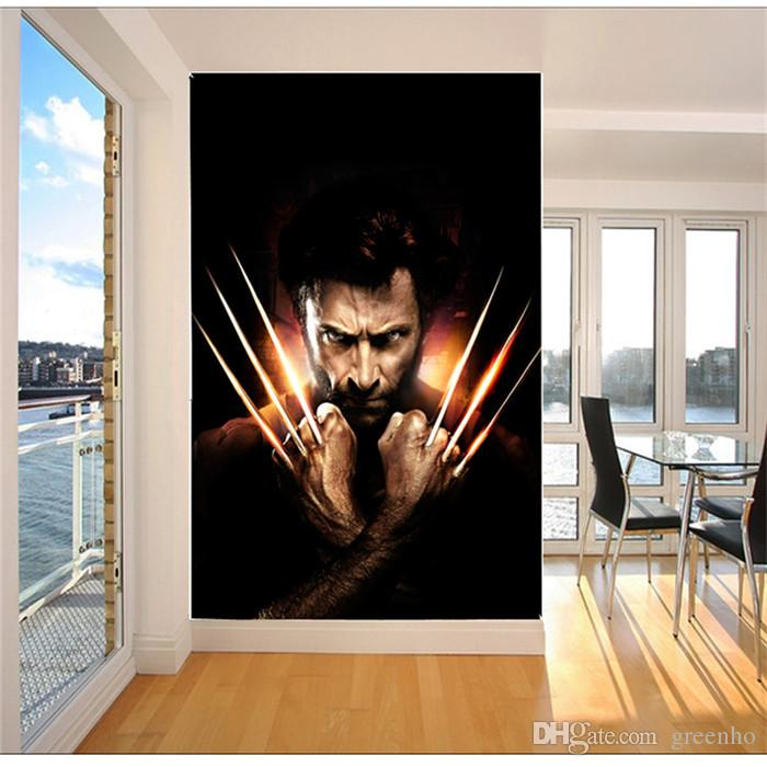 3d x men photo wallpaper wolverine wall mural movie poster