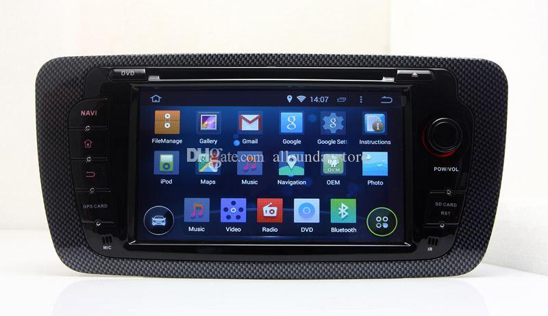 android 5 1 head unit car dvd player for seat ibiza 2009 2010 2011 2012 2013 w gps navigation. Black Bedroom Furniture Sets. Home Design Ideas