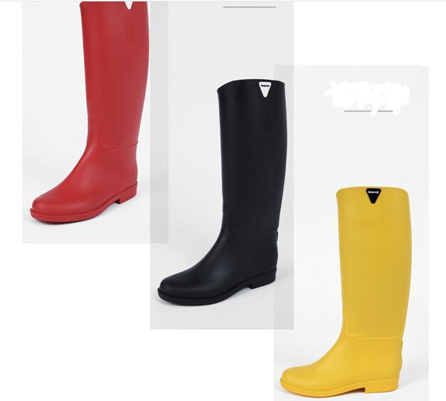 Style! Women Beautiful Rain Boots, Bearcat High Tube Anti Skid ...