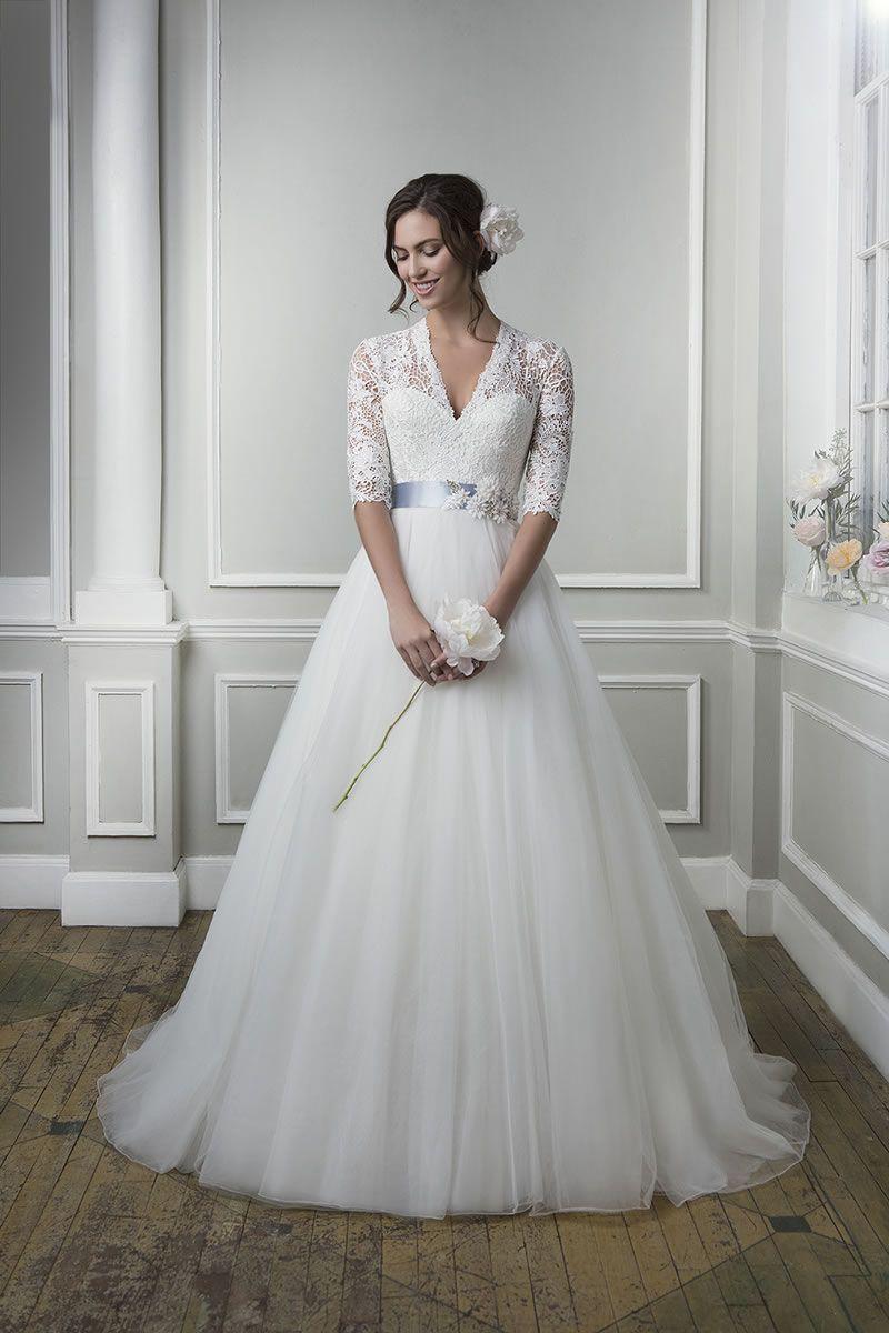Spring lace garden wedding dresses 2016 summer elegant for Wedding dresses spring tx