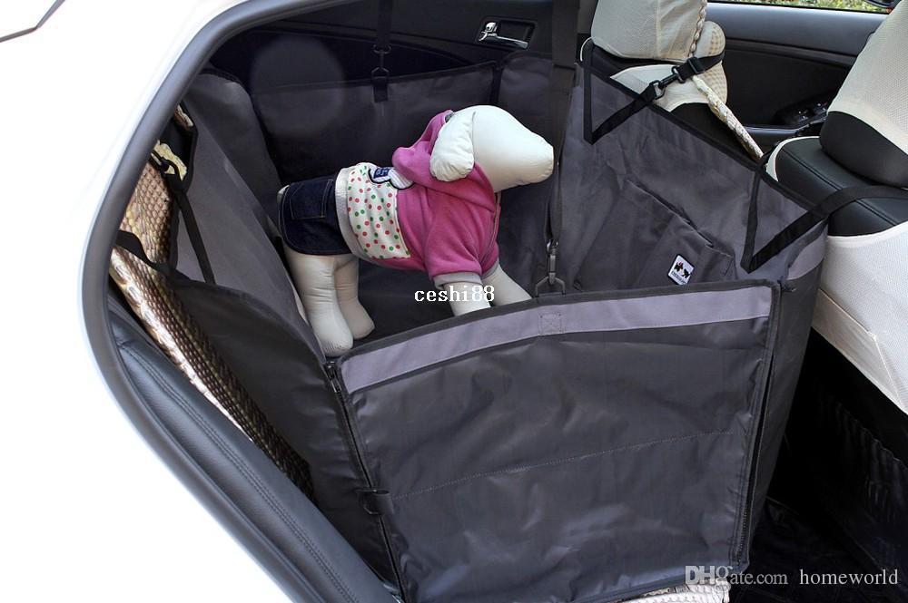 pet dog cat rear back seat car auto hammock blanket cover protector safety grey safety. Black Bedroom Furniture Sets. Home Design Ideas