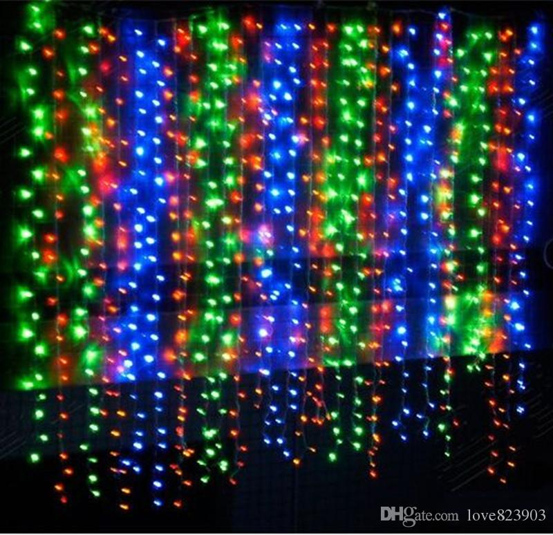 Cheap Price 5M*3M 500LED Star Curtain RGB Color LED Stage Backdrop Colored  Curtains For Nightclub With Controller 110v 240v LED Holiday Lighting LED  Curtain ...