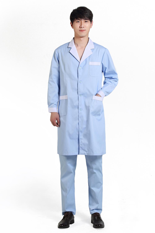 2017 Lab Coat Medical Work Wear White Coat Doctor Clothing Doctor