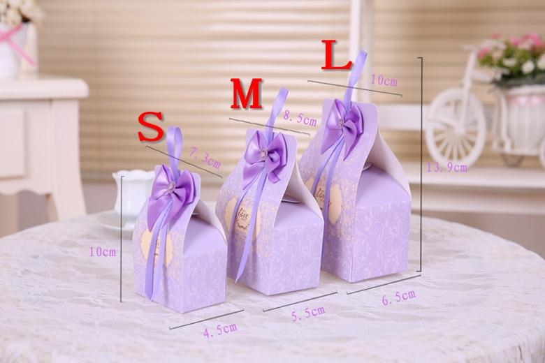 Small Wedding Gift Bag Ideas : Favor Boxes Small Gift Bags Wedding Favor Holders Creative Cute Gift ...