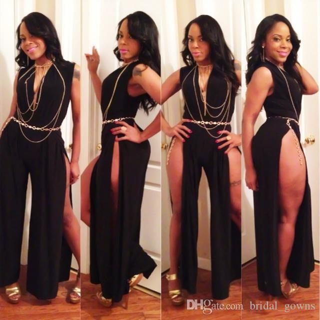 Celebrity black dresses sexy