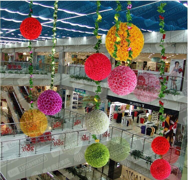 Sensational 2014 New Artificial Encryption Rose Silk Flower Kissing Balls Inspirational Interior Design Netriciaus