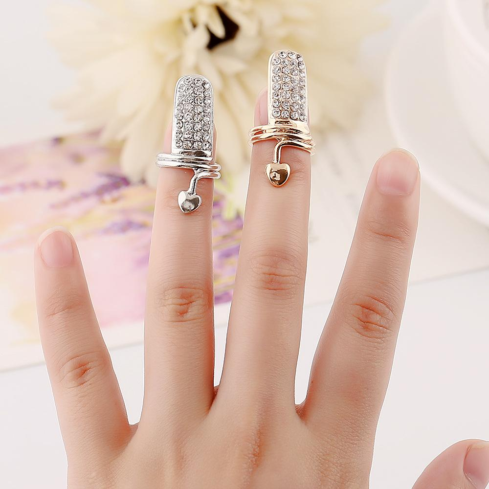 Thumb Ring Design For Ladies