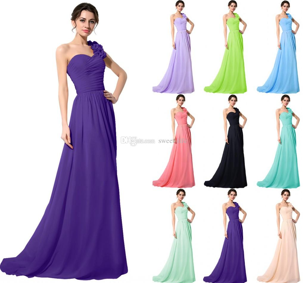 Purple Modest Bridesmaid Dresses In Stock - Wedding Guest Dresses