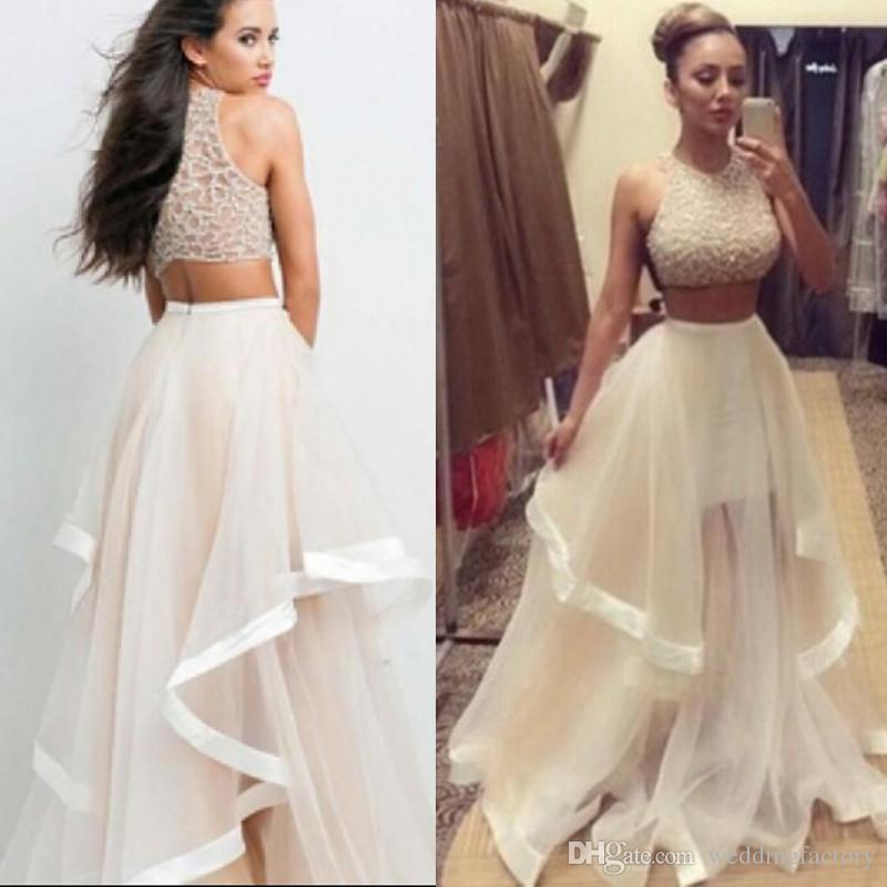 Hire a prom dress 2 piece