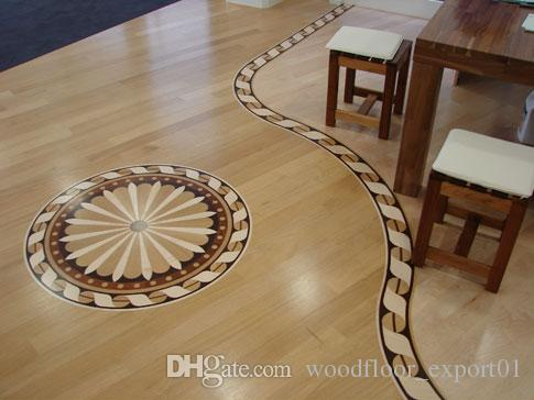 small box floor mosaic combination floor high-end custom floor