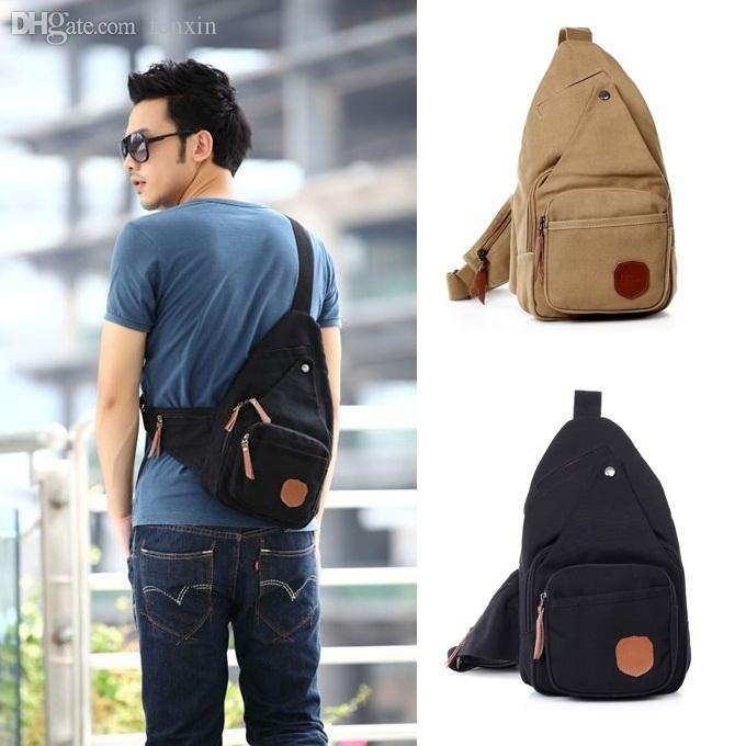 Wholesale 2015 Hot New Fashion Sling Chest Bag For Men Small ...