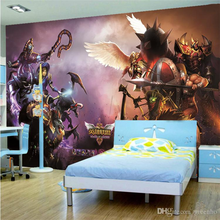 3D Wallpaper League Of Legends Wall Mural LOL Game Photo Large Art Home Decor Children Bedroom Living Room Decoration