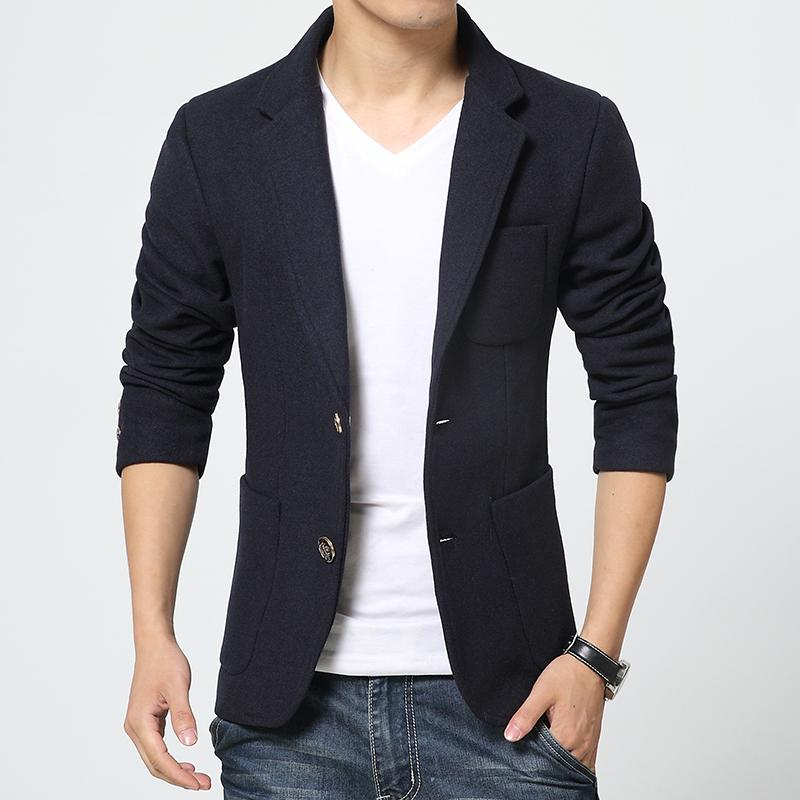 Woolen Blazer Men Wedding Dress Latest Coat Pant Designs Slim Fit ...