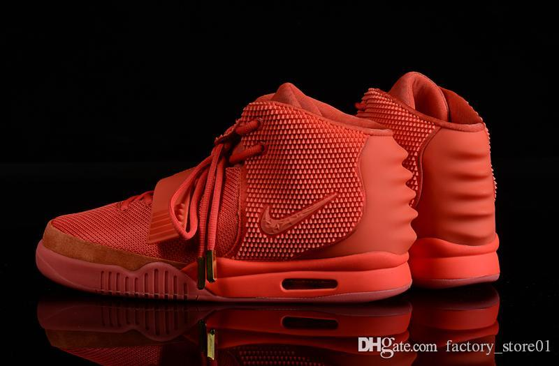 Mens Air Yeezys Orange Pink shoes