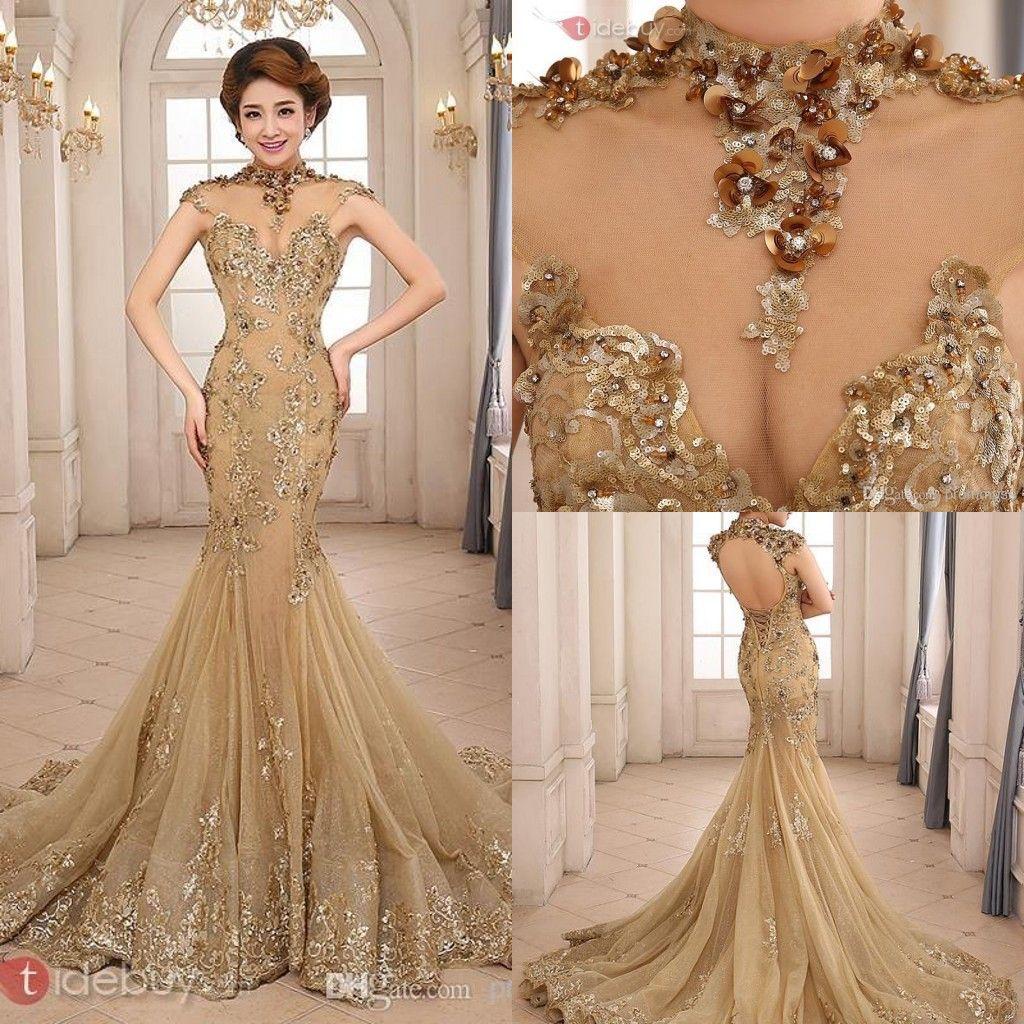 Champagne Wedding Dresses For Older Brides Fashion