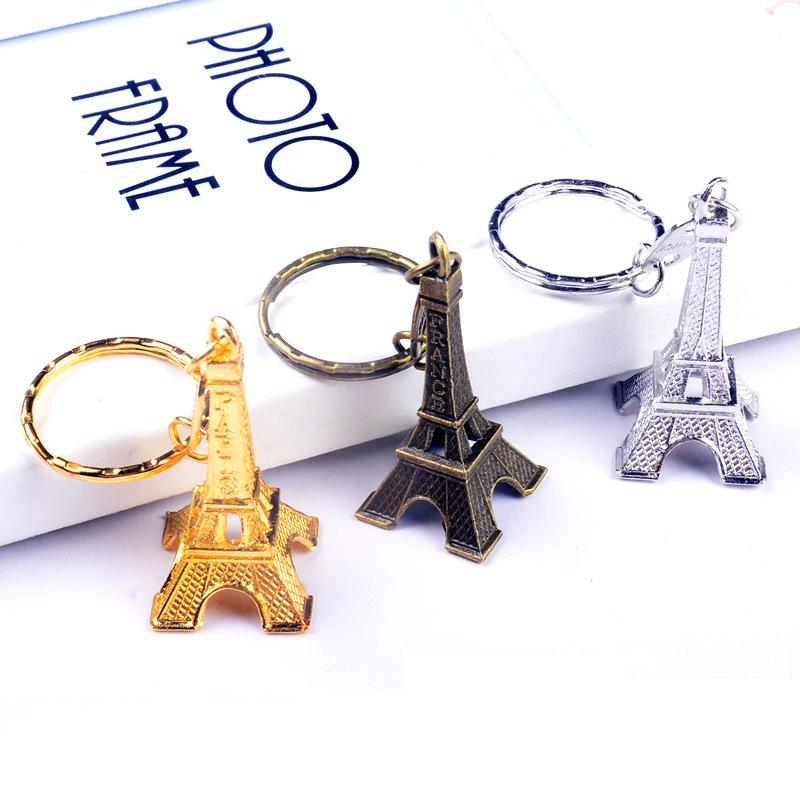3d eiffel tower keychain french france souvenir paris keychain key chain key holder keyring key. Black Bedroom Furniture Sets. Home Design Ideas