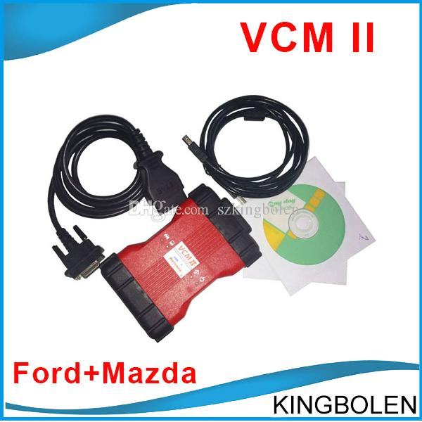 VCM II IDS Ford Mazda Diagnostic Scanner Le plus récent logiciel V96 version VCM