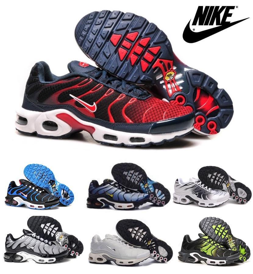 Nike Air Maxes Shoes 2015 Tn Mens Running Shoes, Cheap Wholesale Original Quality Nike Air Max Tn Breathable Men Shoes Womens Trail Running Shoes Latest ...