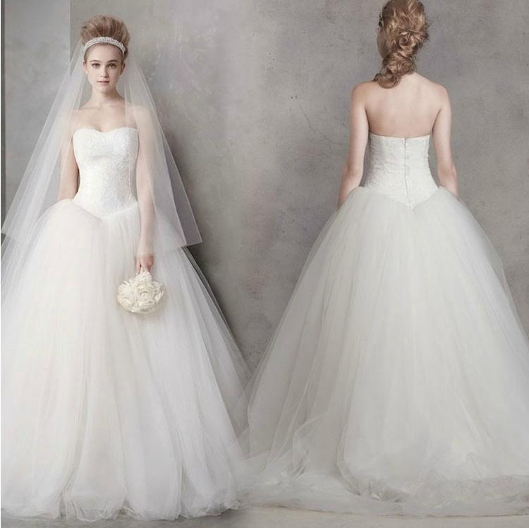 Famous design amazing quality tulle princess ball gown for Cheap wedding dresses made in china