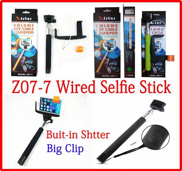 best quality monopod selfie sticks holder z07 7 volume key cable selfiepod groove monopods for. Black Bedroom Furniture Sets. Home Design Ideas