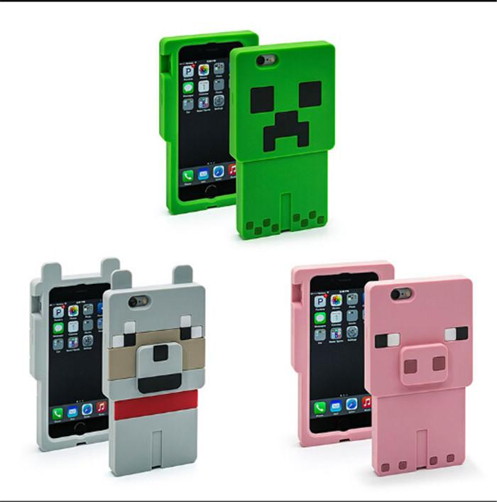HTC custom phone cases htc one minecraft Case iphone 6/5/5S Samsung S5 ipad Cell phone Cases Creeper ...