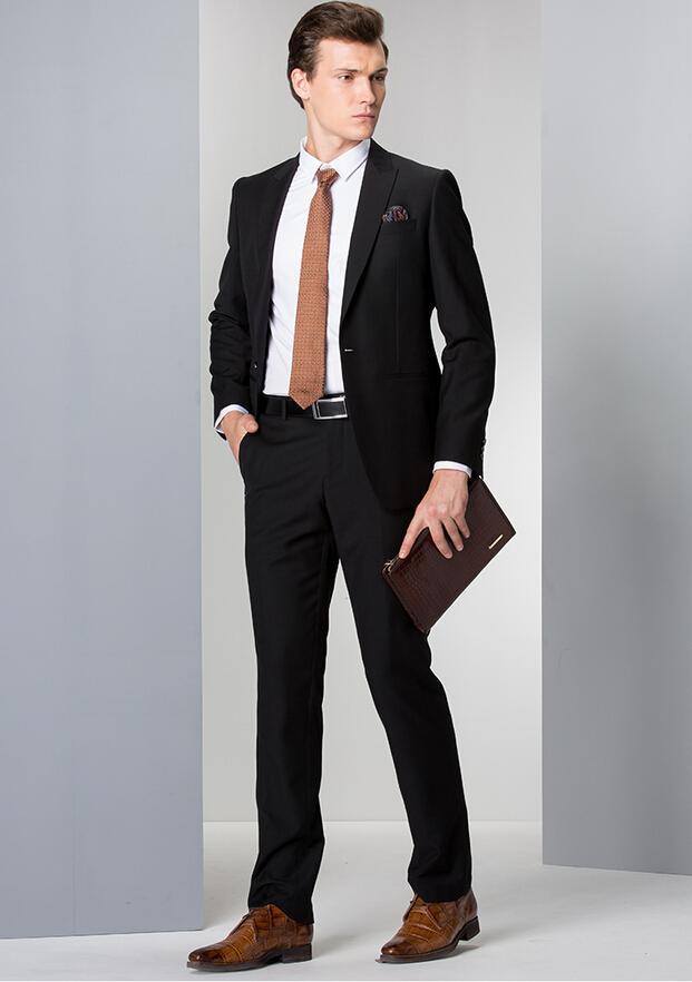 Successful Men Fashion Men's Business Suits Suit Suit Slim Office ...