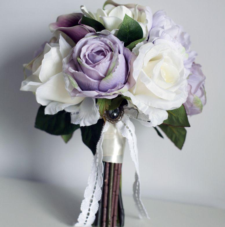 Image Gallery light purple wedding flowers