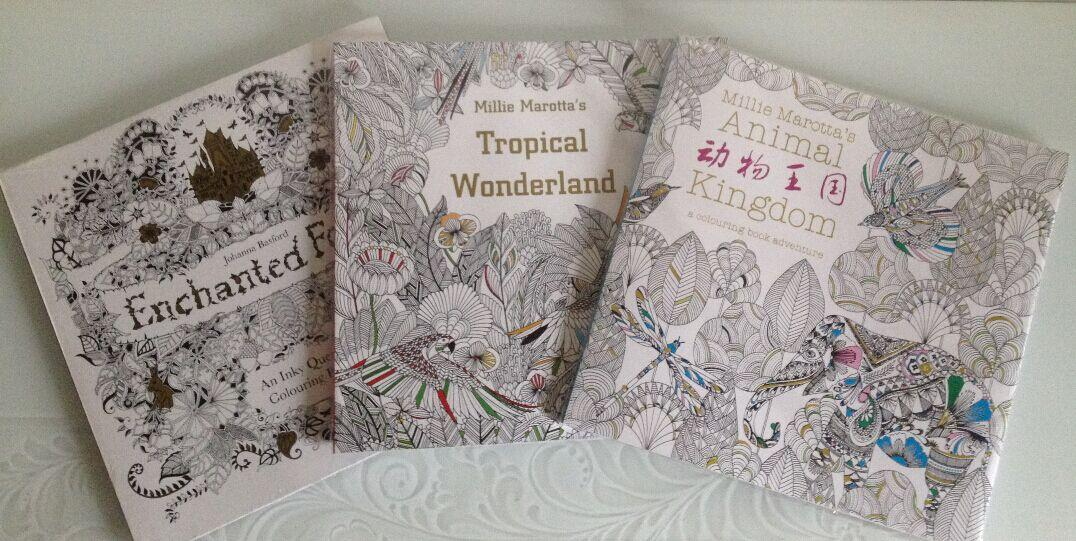 Johanna Basford Coloring Books Enchanted Tropical Wonderland Animal Kingdom With Pencil Forest Book Online
