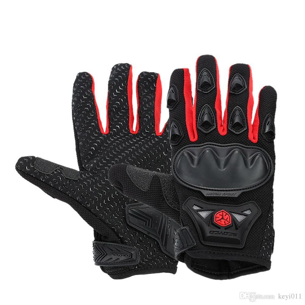 Motorcycle gloves ratings - Scoyco Mc29 Motorcycle Glove Full Finger Guantes Motocicleta Cycling Racing Riding Protective Gloves Outdoor Motorbike Gloves