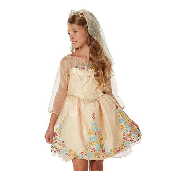 Cinderella Wedding Dress Child : Cinderella dresses kids prom white