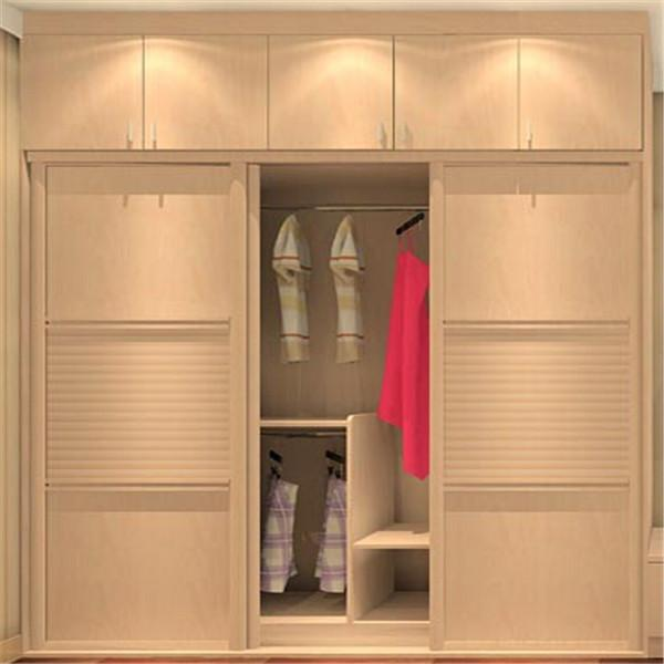Sliding wardrobe doors fancy bedroom with