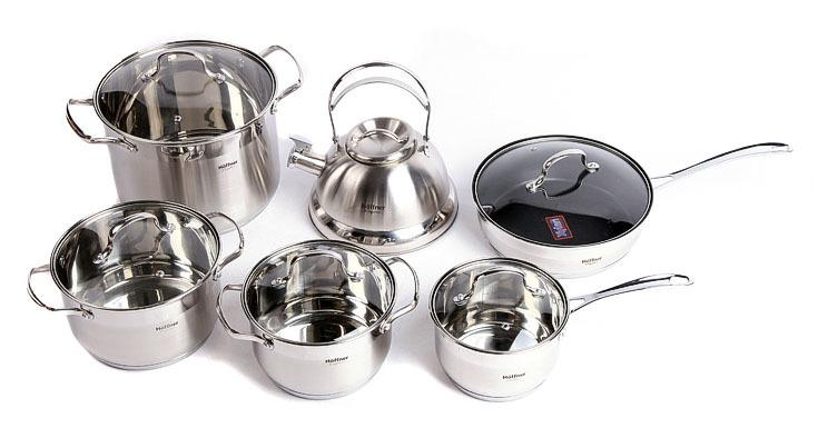 German Brand Cooking Pots Hoffner Of Multi Purpose Stainless Steel ... | {Höffner online shop 85}