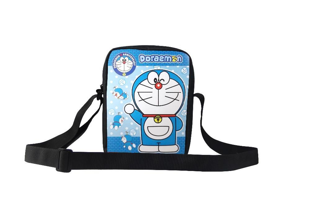 2015 New Men Messenger Bag 3d Cartoon Doraemon Shoulder Bag For ...