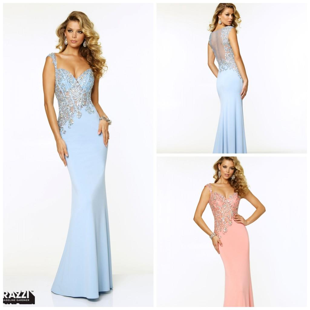 Wedding Occasion Dresses 2015 sexy prom dresses special occasion sheath column spaghetti floor length chiffon applique beaded sequins