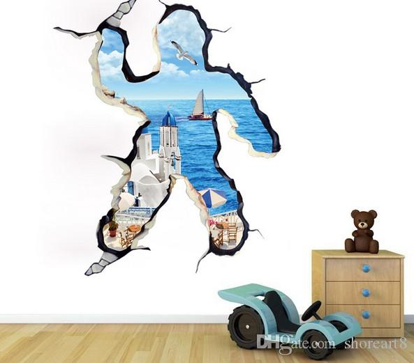 3D Wall Stickers Personality Family Adornment To Be Able To Remove Cartoon Wall  Stickers Stereoscopic Wall