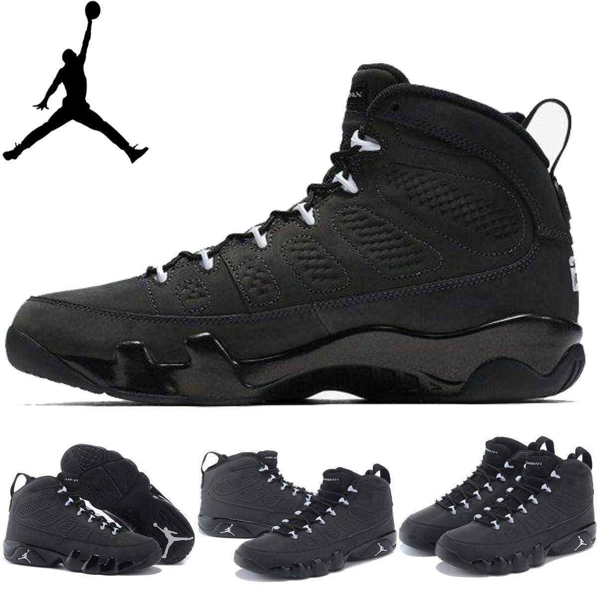 air jordan 9 retro anthracite men's shoes