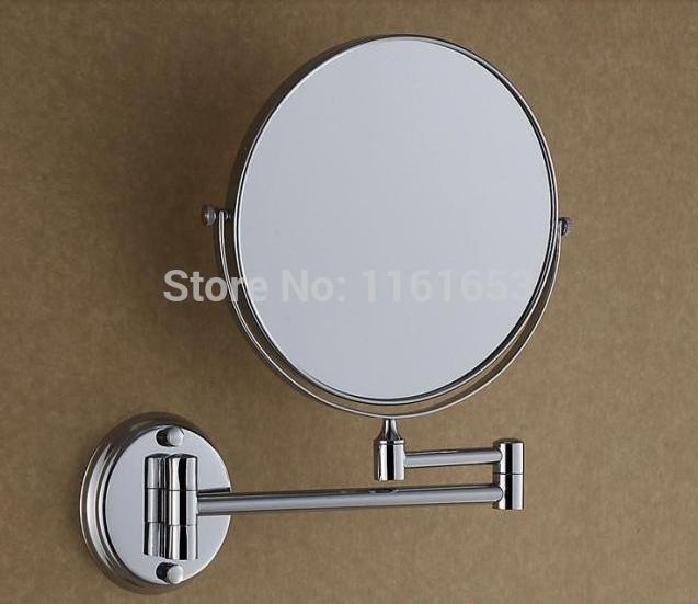 Online Cheap 2014 Bathroom Mirrors Sale Wrought Iron Mirror Frame Antique All Copper Cosmetic The