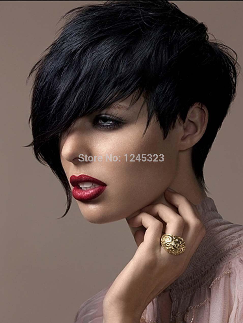 Фото красивых женщин брюнеток за 30 с короткой стрижкой 9 фотография