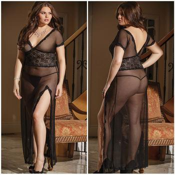 Plus size erotic clothing
