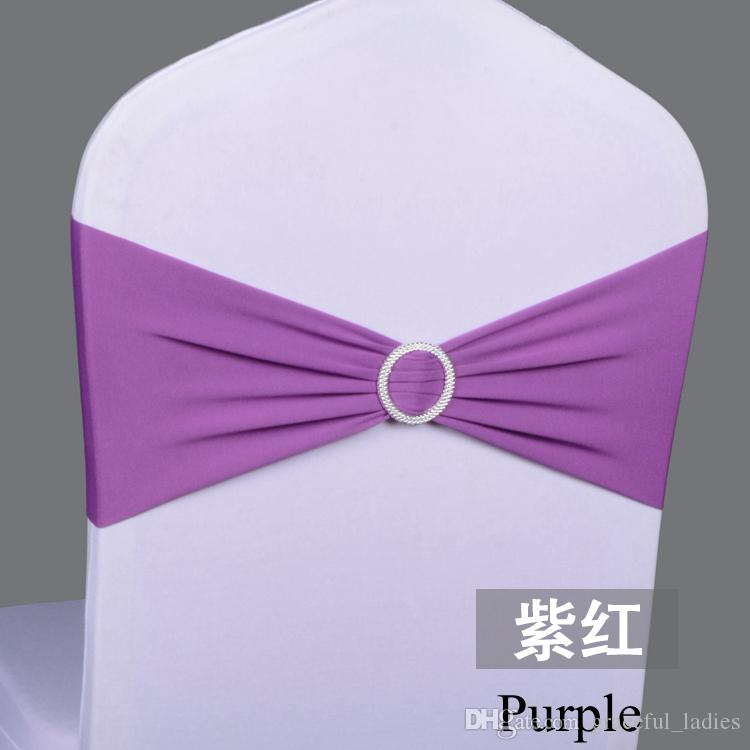 2017 Purple Chair Covers And Sashes Cheap Seat Covers For