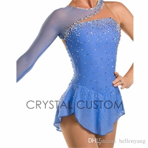 Hot Sales Ice Skating Dresses Adult Spandex Beautiful New Brand ...