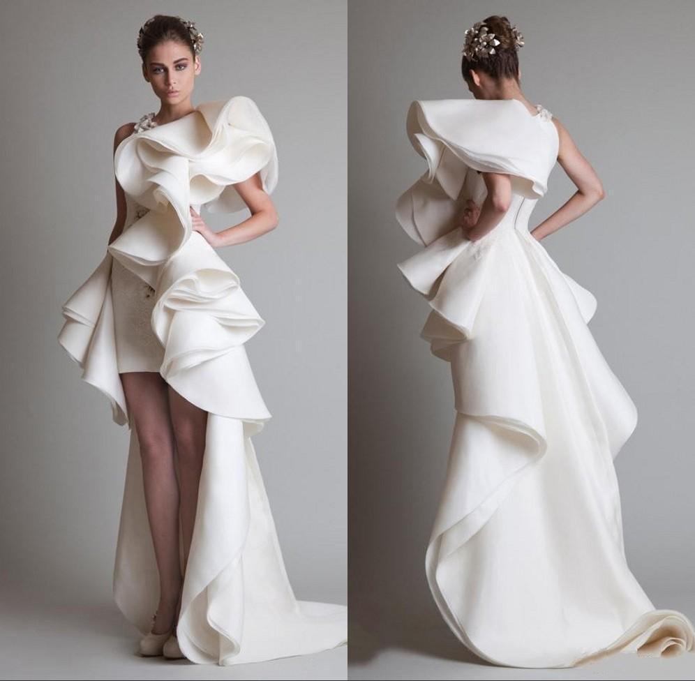 Fashion krikor jabotian wedding dresses appliques lace for Low back wedding dresses for sale