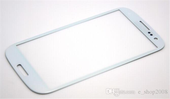 Front Outer Screen Glass Lens for Galaxy S3 SIII i9300 no touch with Tools Blue White