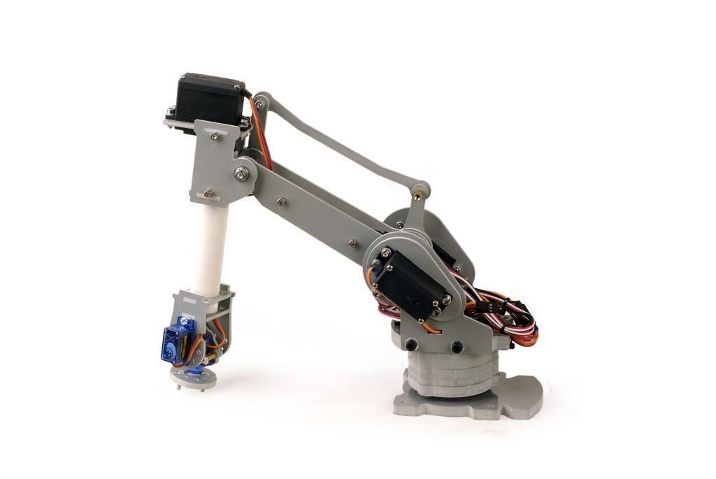2017 Six Axis Motor Servo Cnc Robotic Arm Model 6dof All: motor for robotic arm