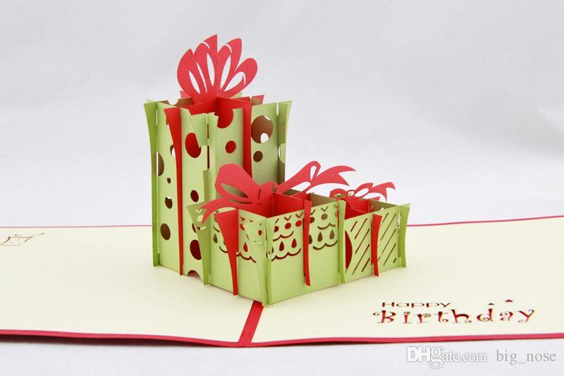 Birthday Gift 3d Handmade Card Pop Up Gift Greeting 3d Cards – Invitation Cards Handmade