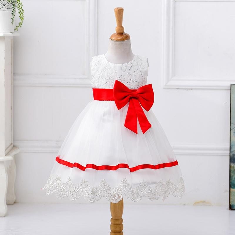 Flower Girl Dress New Designer Vestido Meninas Simple Lace Sequins ...