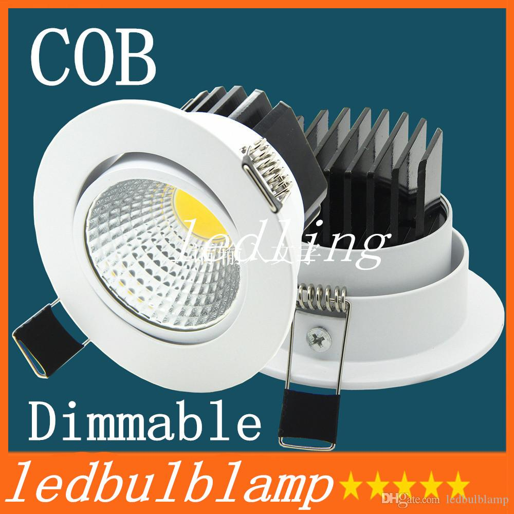 La décoration plafond LED nouvelle Super Bright LED encastré Dimmable Downlight