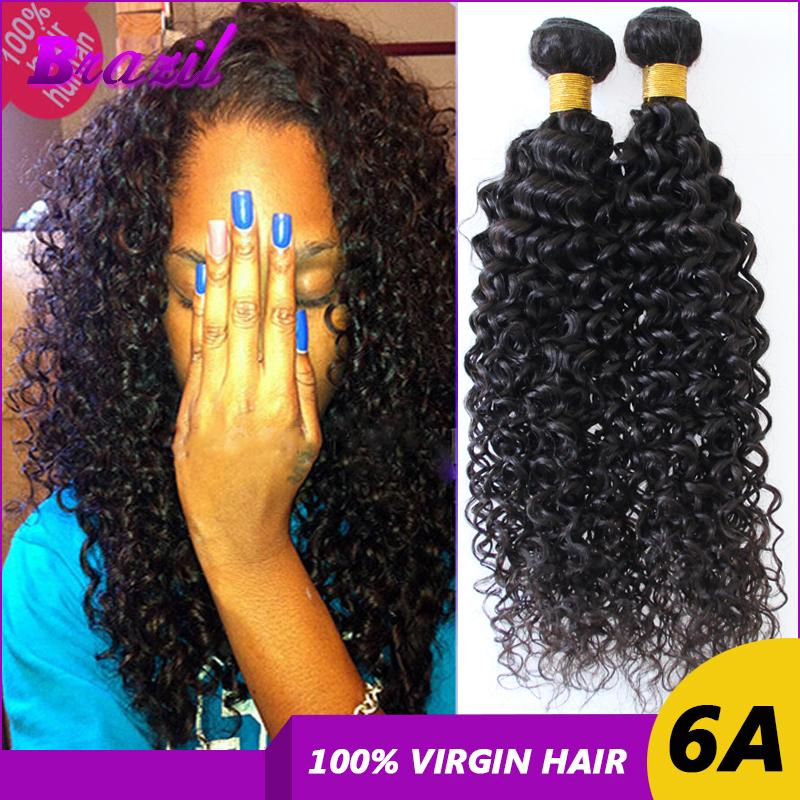 Afro Curly Brazilian Virgin Hair Wefts 27