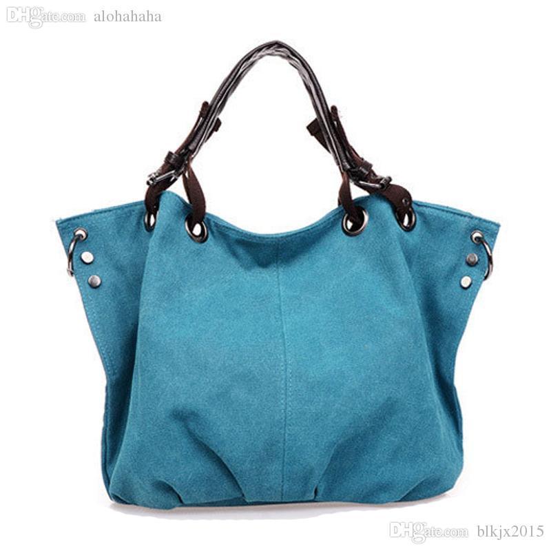 Bolsa De Ombro Masculina Vintage : Wholesale new bolsas femininas women handbag canvas