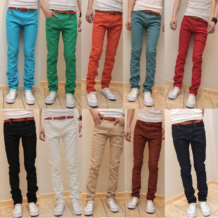 Discount 2015 Spring New Style Men'S Denim Trousers Stretch Jeans ...